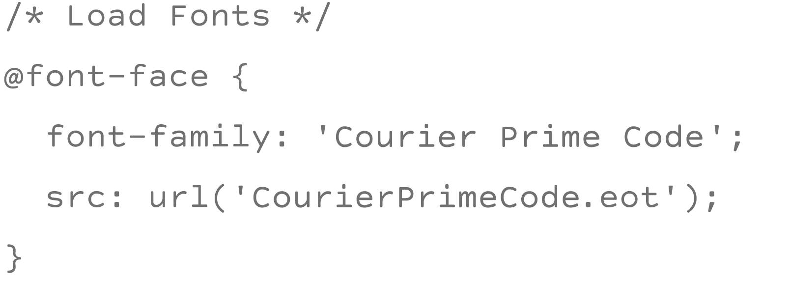 Courier Prime: It's Courier, just better